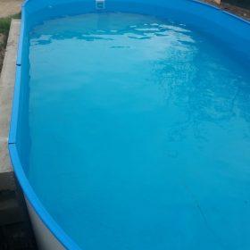 Piscină Metalică Ovală - Hobby Pool Toscana  - 7 x 3.5 x 1.5 m photo review