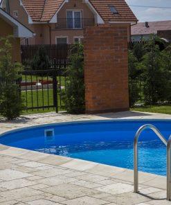 bordura piscina ovala